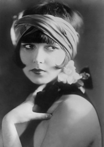 1925: Portrait of Actress Louise Brooks.
